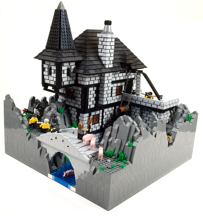 Lego Mill Build For Collosal Castle Contest